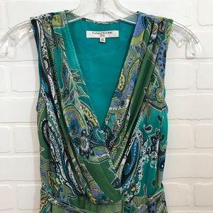 Evan-Picone Fit & Flare Dress Sz 2P Sleeveless